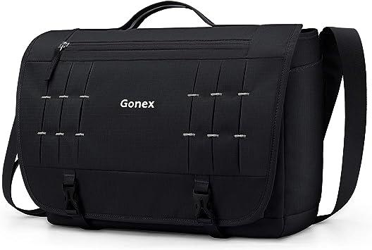 Men Women Laptop Satchel School College Bookbag Travel Messenger Shoulder Bag