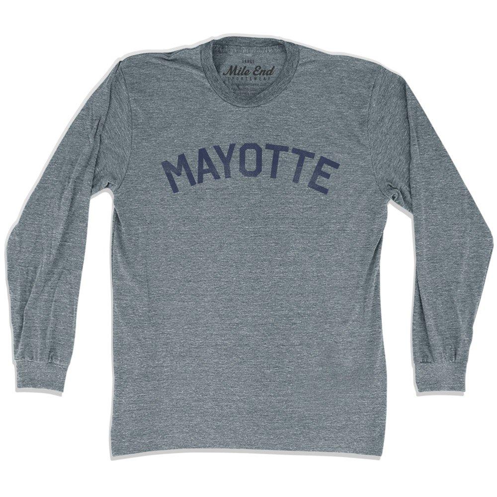 Mayotte City Vintage Long Sleeve/T-shirt