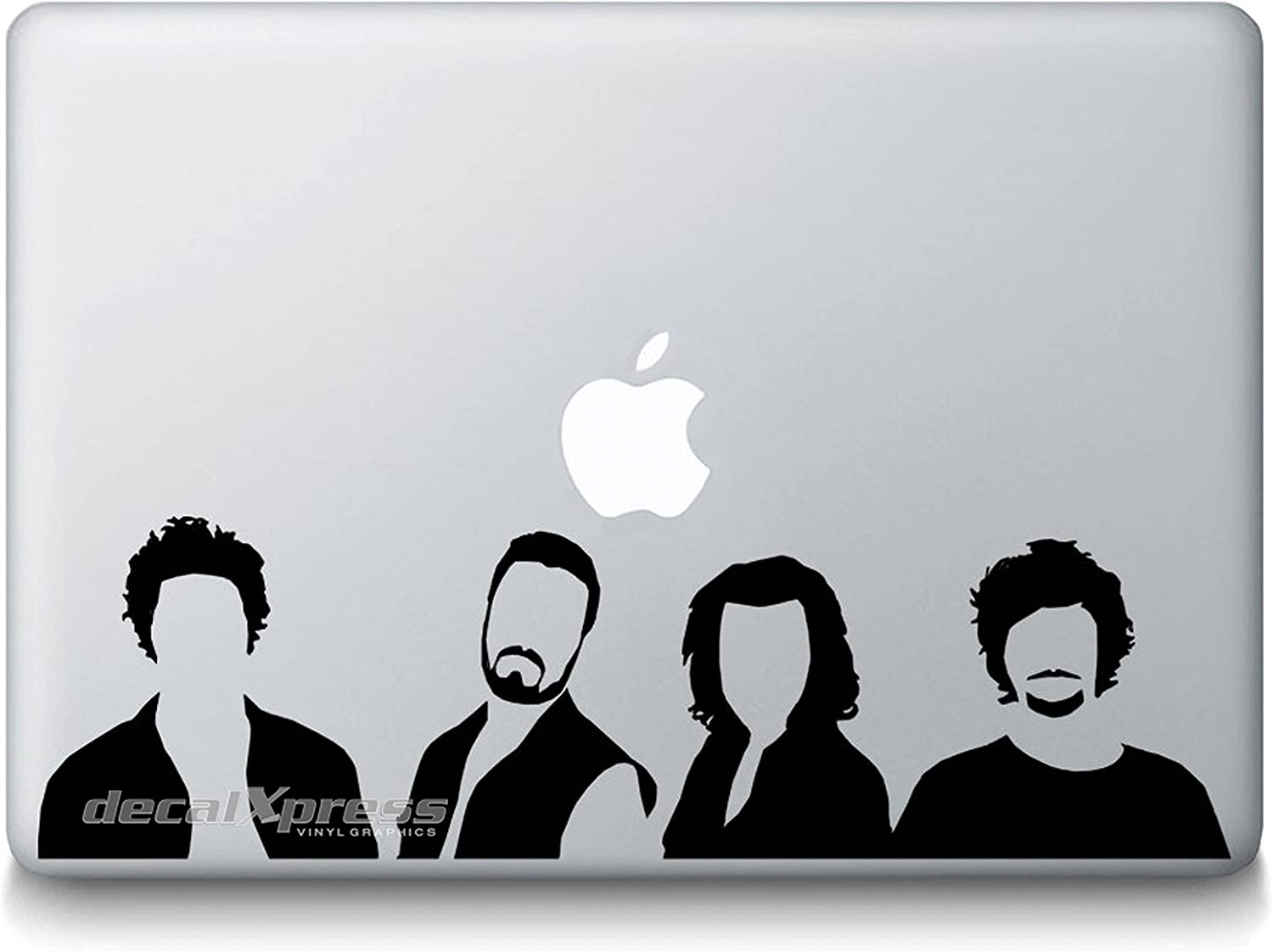 Rock Band One Direction Superhero Spider Decal Sticker for MacBook, Air, Pro All Models