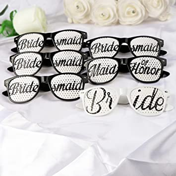 Aytai 6pcs Gafas de sol del favor de la boda Gafas de sol de ...