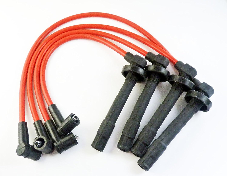 Juego de cables de encendido 10, 2 mm 8034 para Civic Racing Civic del Sol 1992-2000 Rejog4 Auto