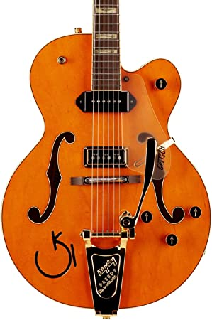 Gretsch G6120 Eddie Cochran Signature Hollow Body · Guitarra eléctrica: Amazon.es: Instrumentos musicales