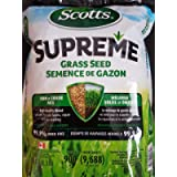scotts Supreme Grass Seed Sun Shade & Mix high Quality with Improved Formula 3.8 kg