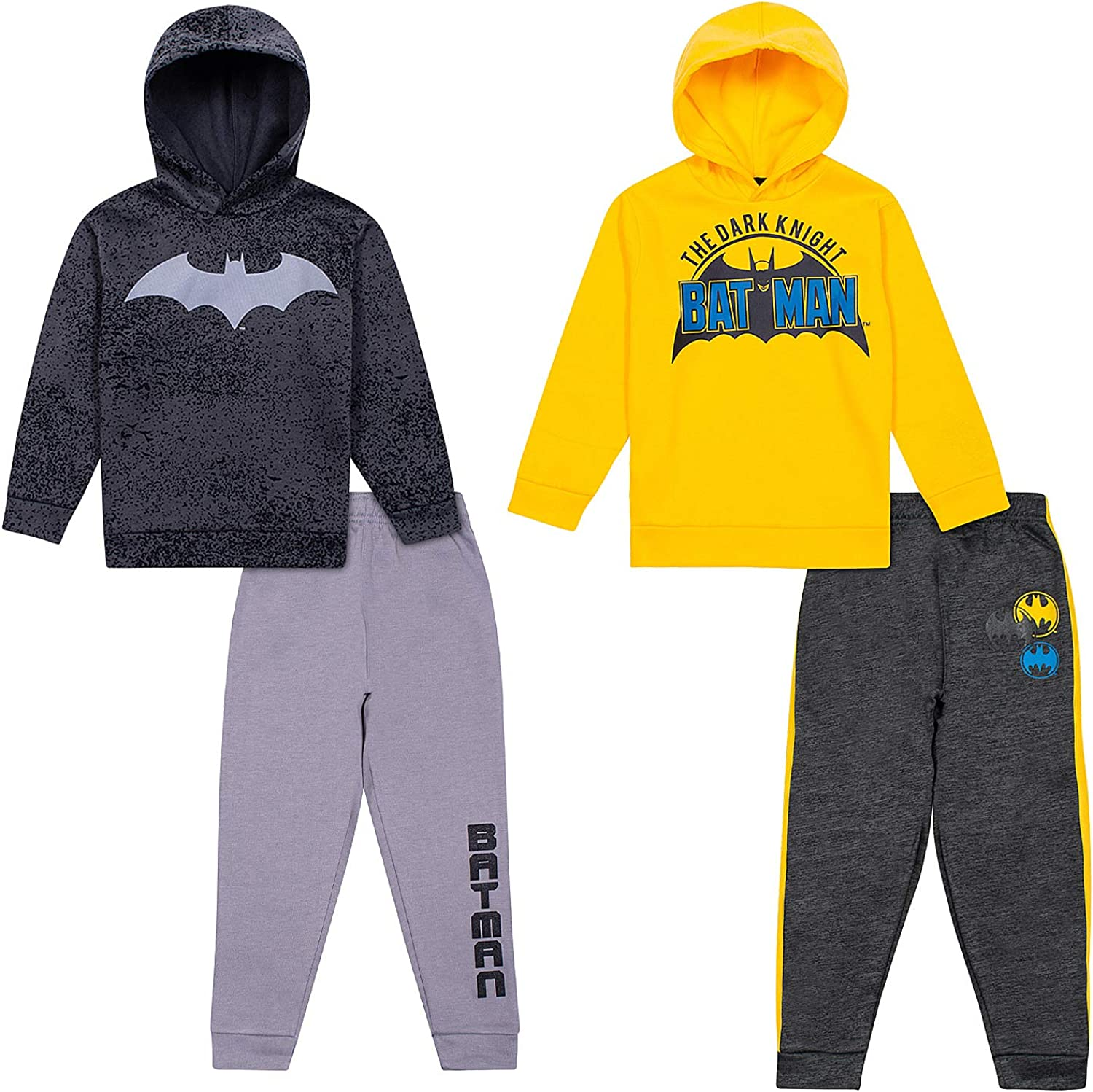 Batman Hoodies Sweatshirts & Sweatpants 4 Piece Set, Kids Clothes...