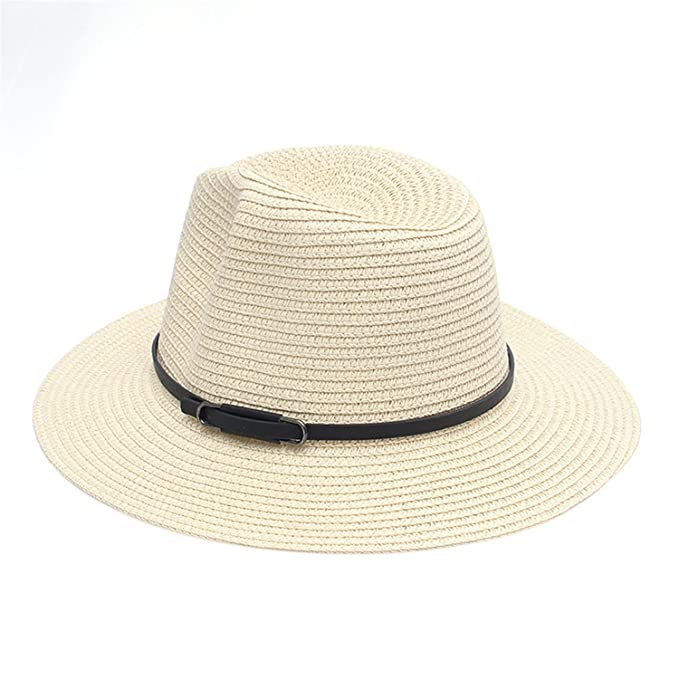New Lady Snapback Gorras Caps Ribbon Round Flat Top Straw Beach Hat Woman Floral Panama Hat
