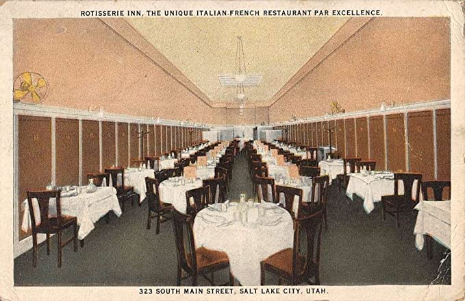 Amazon Com Salt Lake City Utah Rotisserie Inn Restaurant