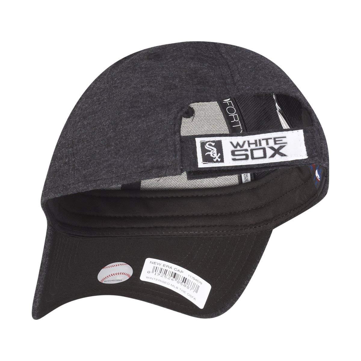 san francisco be336 6565d New Era 9Forty DWR Cap - WINTERISED Chicago White Sox  Amazon.co.uk   Clothing