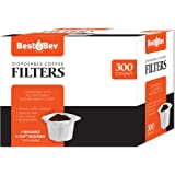 Party Bargains Disposable K-cup Coffee Paper Filters for Keurig Single Serve Filter | Pack of 300