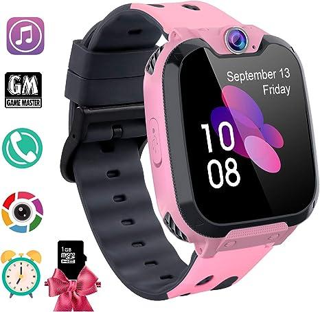 Amazon.com: PTHTECHUS 4G Reloj inteligente para niños: BowJet