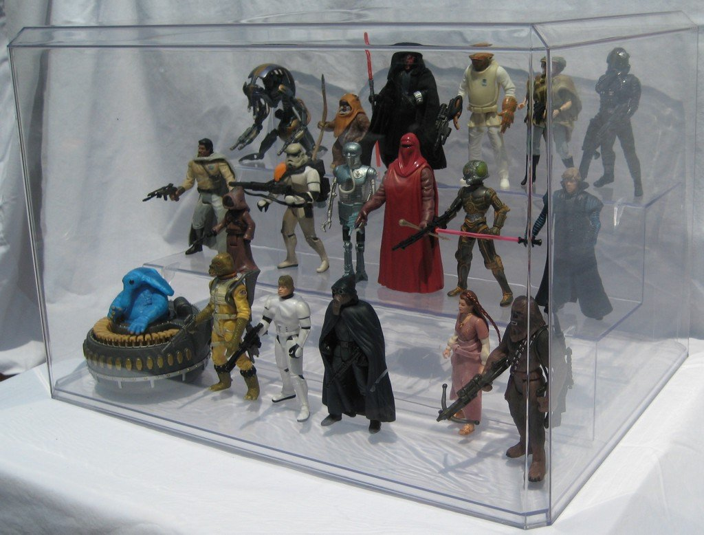Amazon.com: APEX Action Figure Display Case by SMALLJOES.COM, LLC: Toys &  Games