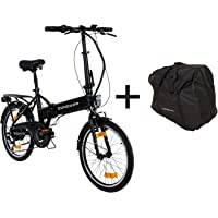 Zündapp E-Klapprad 20 Zoll mit Tasche Pedelec Elektrofahrrad Z101 E-Bike Faltrad