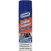 Gunk Glass Cleaner Streak Free 538 gms غنك منظف زجاج رغوة مزيل للصق, GC1