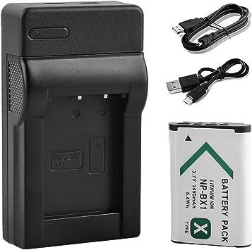 Cargador de batería Micro USB para Sony CyberShot dsc-rx100m3