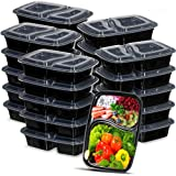 [25 Set] Meal Prep Containers with Lids Ideal-Lunch Containers, Food Prep Containers, Food Storage Bento Box, Portion Control