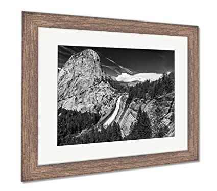 Amazon Ashley Framed Prints Nevada Falls In The Usa Wall Art