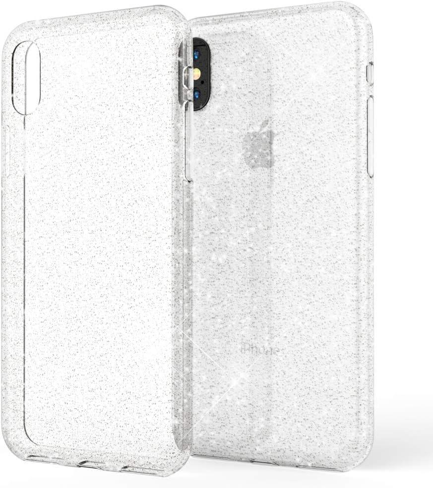 NALIA Coque avec Bague Compatible avec iPhone X XS Housse Protection Case avec 360/° Ring Stand pour Support Voiture Magnetique Fine Mince Telephone Portable Cover Etui R/ésistant Couleur:Noir