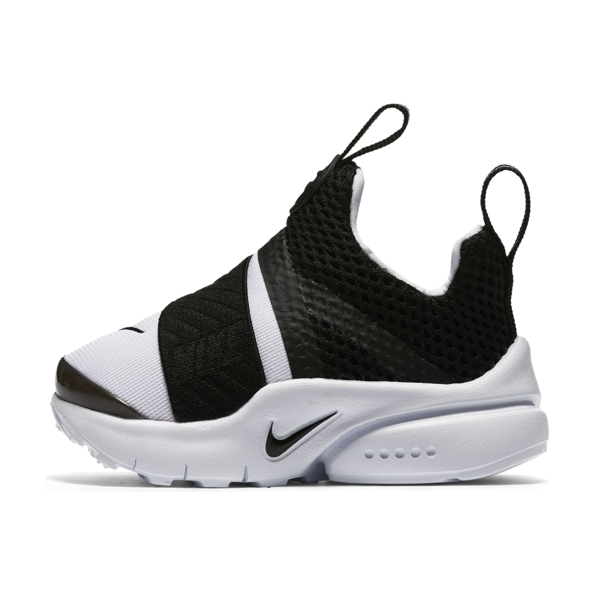 super popular 74071 0ed71 Galleon - Nike Presto Extreme Toddler s Running Shoes White Black  870019-100 (4 M US)