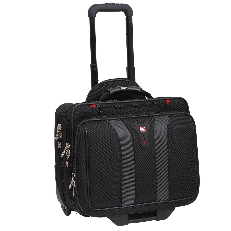 Swissgear Granada Rolling Case Nylon for Upto 17-Inch Notebooks - Black by Wenger