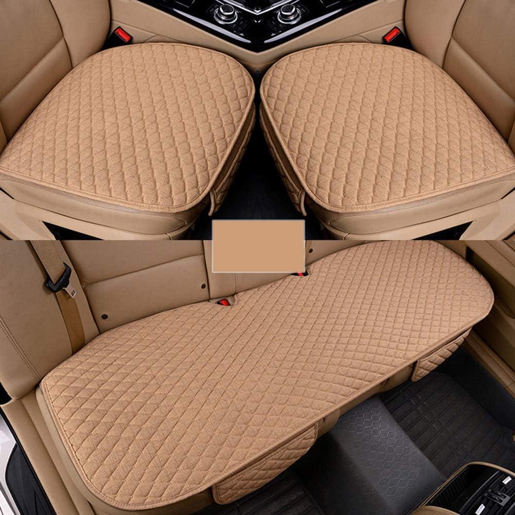 Coprisedile auto cuscino per auto sedile auto sedile auto sedia ufficio casa cuscino memory foam beige//nero caff/è 50 x 47 cm 50 x 130 cm Beige 3pcs