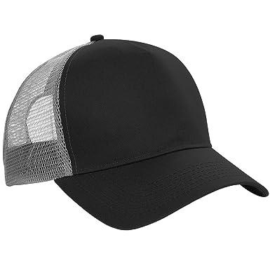 67515744342 Beechfield Mens Half Mesh Trucker Cap   Headwear  Amazon.ca ...