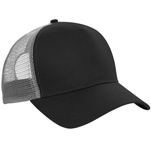 78a6d2cbaac Amazon.com  Beechfield Mens Half Mesh Trucker Cap Headwear  Clothing