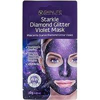 Máscara Starkle de Diamante com Glitter Violeta, Skinlite