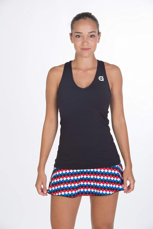 a40grados Sport & Style Geometric Falda, Mujer