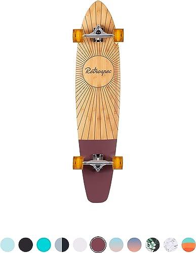 Zed Bamboo Longboard best cheap skateboards