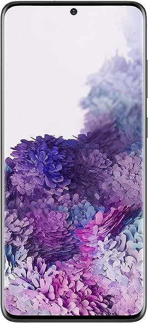 هاتف سامسونج جلاكسي اس 20 بلس بشريحتي اتصال- 512 جيجا، بذاكرة رام 12 جيجا، الجيل الخامس- اسود