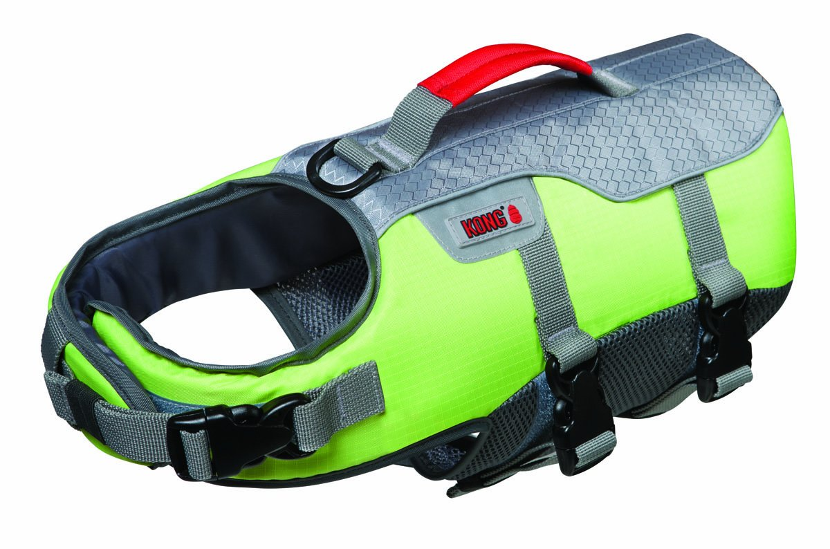 Future Sports Products International Kong Sport Aqua Float Flotation Vest for Dogs, X-Large, Green by Future Sports Products International