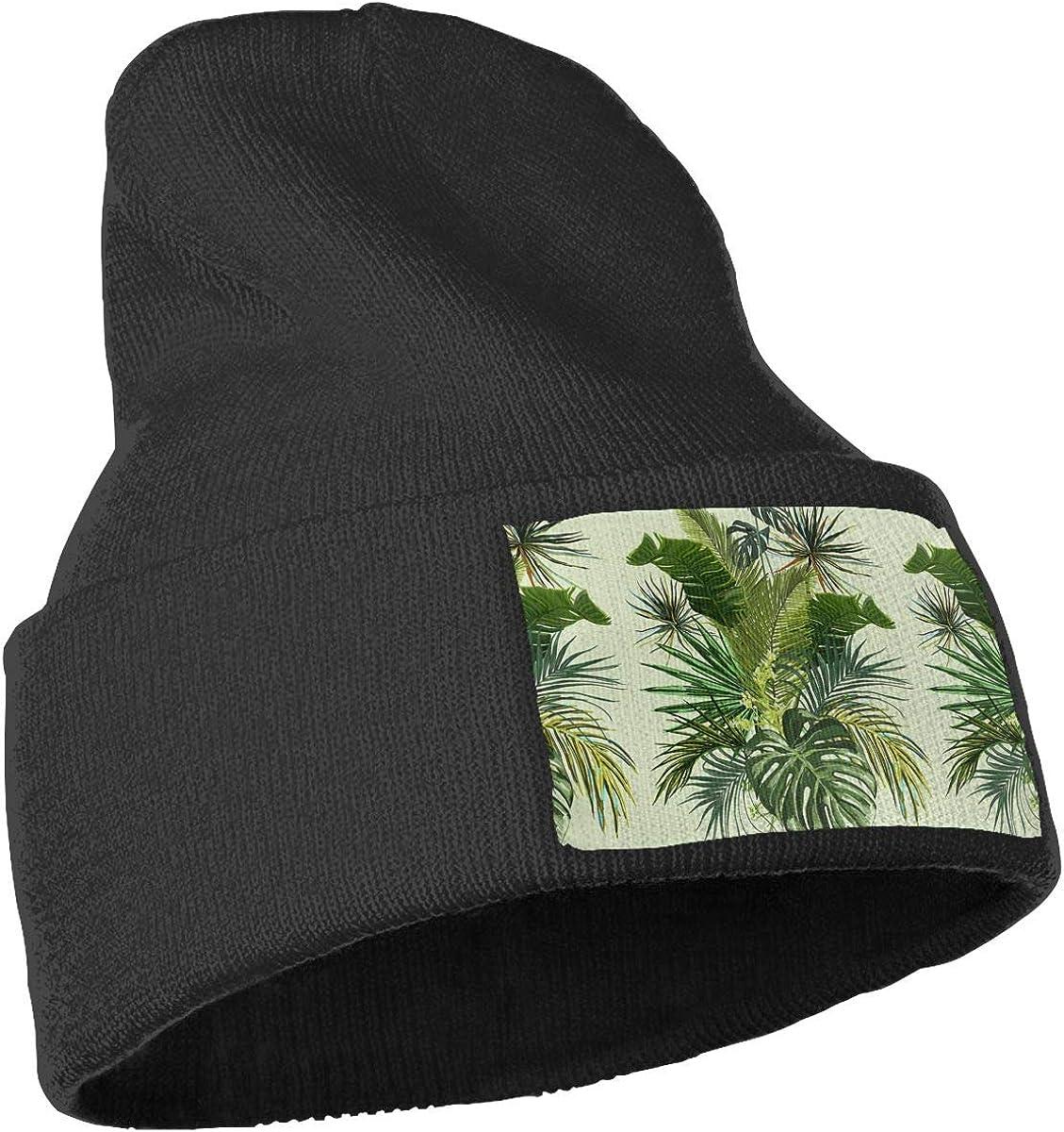 QZqDQ Retro Plants Unisex Fashion Knitted Hat Luxury Hip-Hop Cap