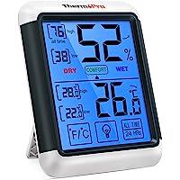 ThermoPro TP55 Termómetro Higrómetro de Interior para Casa Ambiente Medidor de Temperatura y Humedad Digital…