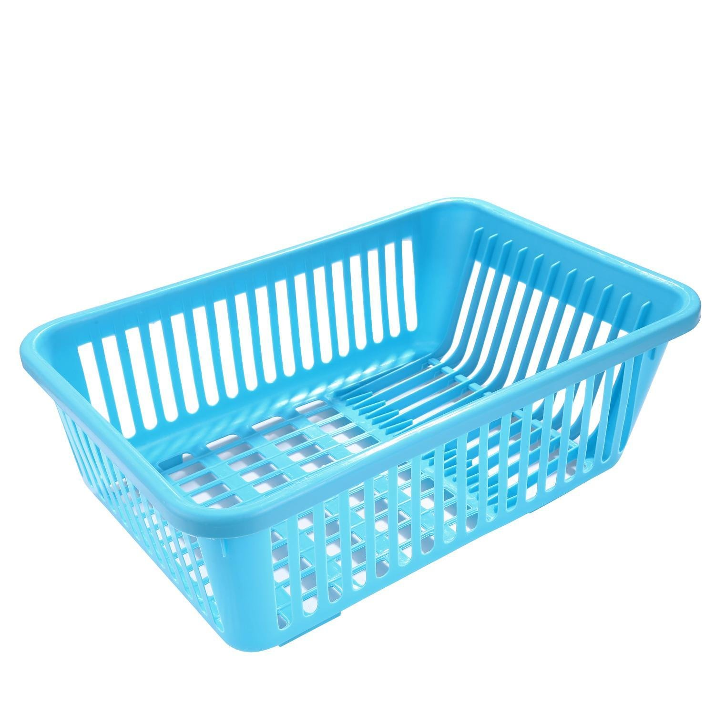 Amazon.com: Kitchen Plastic Dish Drainer Drying Sink Rack with Drain ...