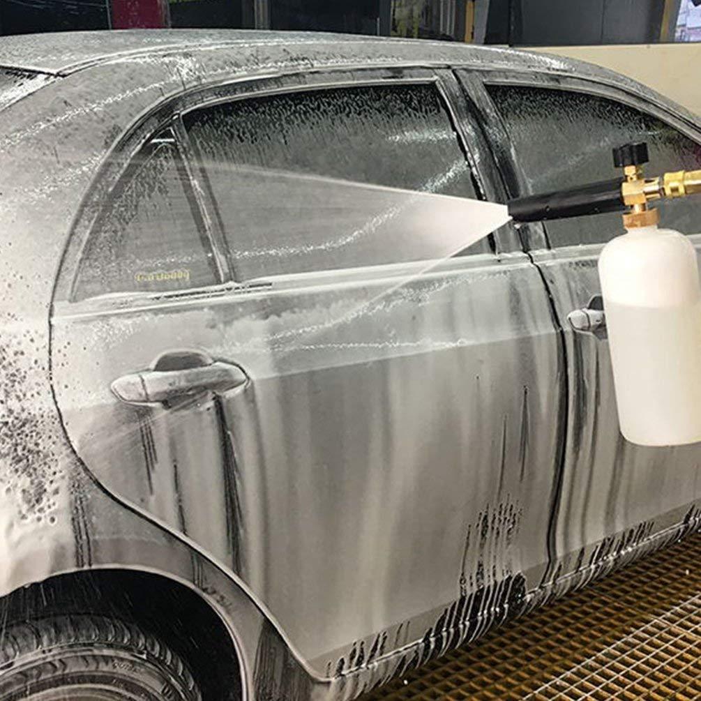TAOHOU Espuma Lanza Lavadora a presión Botella de jabón Pistola ...