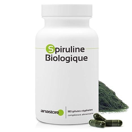 ESPIRULINA ECOLÓGICA * 500 mg / 180 cápsulas * Antioxidantes, Cardiovascular (glucosa),