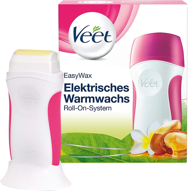 Veet 37490 - Roll-On para depilación 50 ml, color rosa y blanco