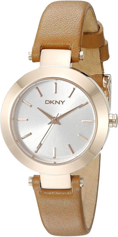 DKNY Reloj analogico para Mujer de Cuarzo con Correa en Acero Inoxidable NY2415
