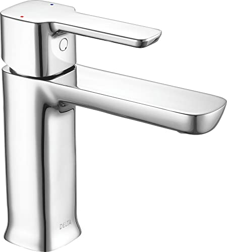 Delta Faucet 581LF-GPM-PP Modern Single Handle Project-Pack Lavatory Faucet, Chrome