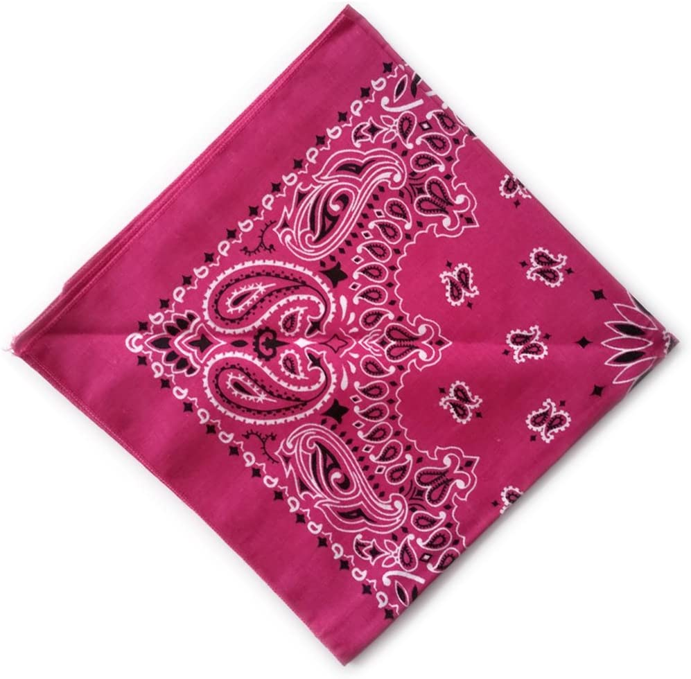 100/% Coton 26 Colors Hav-A-Hank Bandana Motif Paisley Made in USA