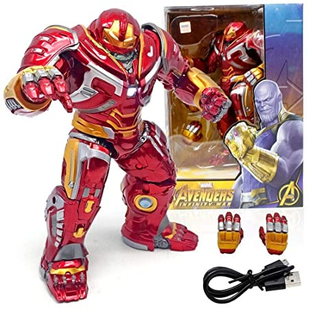 Anti-Hook Armor Iron Man Modelo Avengers Mobile Lightable ...