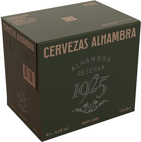 Alhambra - Reserva 1925 Cerveza Dorada Lager, 6.4% Volumen de ...