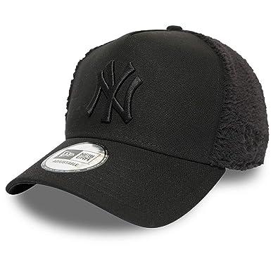 New Era Gorra Trucker MLB Sherpa York Yankees Negro - Ajustable ...