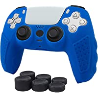 ROCK POW PS5 Dualsense Controller Skin case, Anti-Slip Silicone Cover Protective Case Playstation 5 PS5 Controller…