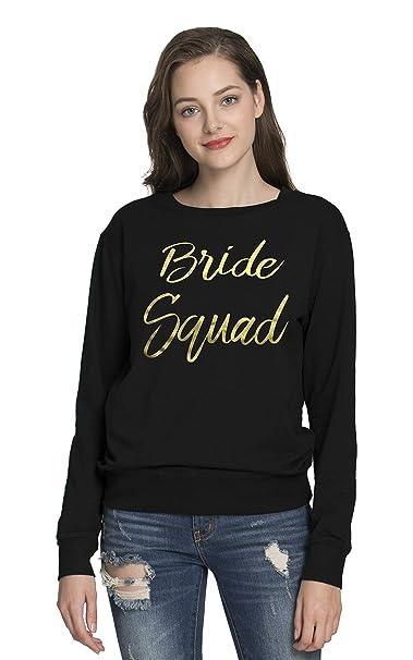 PINJIA Mujers La Novia T-Shirt Tops Graphic Tees Camiseta para Mujer and Sudaderas sin Capucha: Amazon.es: Ropa y accesorios