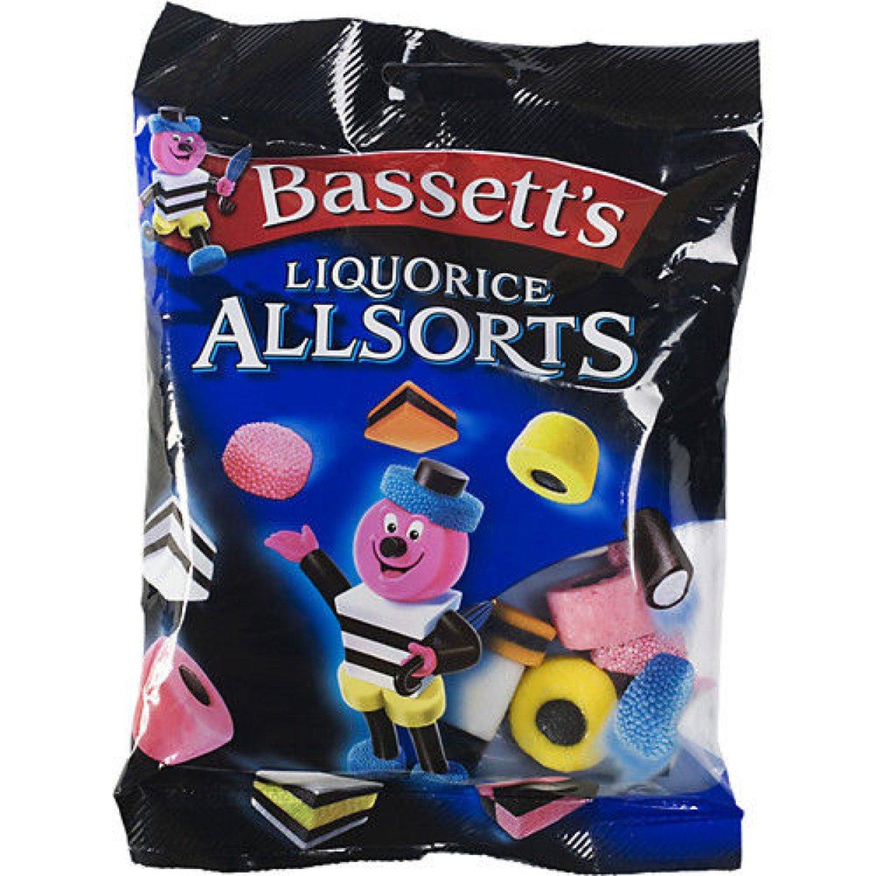 Bassett's The Original Liquorice Allsorts (215g Bag of Licorice)