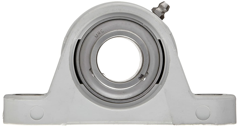 2 Bolt Holes Relubricatable Stainless Steel Insert Non-Expansion Setscrew Locking Collar MRC CPB104SSG Pillow Block Bearing Composite 1-1//4 Bore Diameter 1-1//4 Bore Diameter Inch