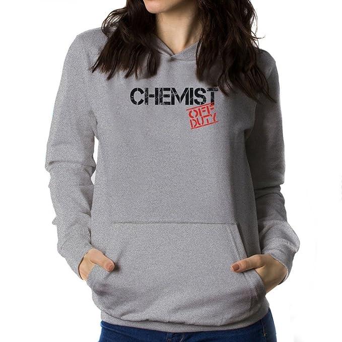 Teeburon Chemist Off Duty Sudadera con Capucha para Mujer: Amazon.es: Ropa y accesorios