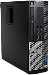 Dell Optiplex 7010 Desktop Computer - Intel Core i7 3.8GHz, 16GB DDR3, New 1TB SSD, Windows 10 Pro 64-Bit, WiFi, USB 3.0, DVDRW, 2X Display Port (Renewed)