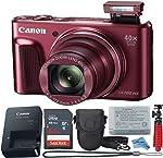 Canon Powershot SX720 (Red) Point & Shoot Digital Camera + Accessory