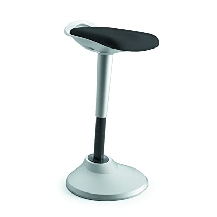 Exceptionnel HON Perch Stool, Sit To Stand Backless Stool For Office Desk, Black  (HVLPERCH